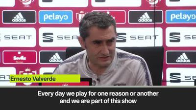 Valverde dodges question about his future ahead of Copa del Rey final