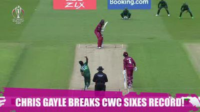 ICYMI Gayle breaks ODI sixes record with back-to-back maximums against Pakistan