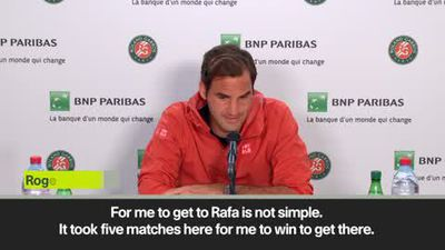 Federer 'happy' to face Nadal in French Open semi-final