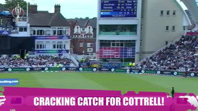 ICYMI - Cottrell's classic catch as he defies belief by staying in the boundary