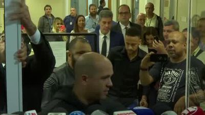 'Thanks for the love' says Neymar after testifying at Rio de Janeiro police HQ