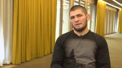 UFC champ Khabib - Fury is my number one heavyweight