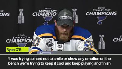 'I was trying so hard not to smile' Ryan O'Reilly