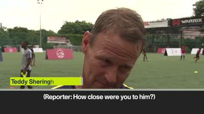 'Absolutely devasted' Sheringham on the passing of Justin Edinburgh