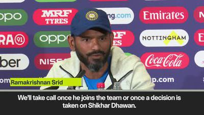 'No decision on Pant' India wait on Dhawan injury