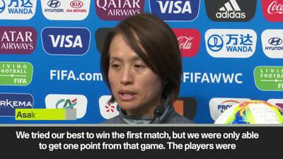 Japan 'looking ahead' to game against Scotland despite disappointing opening draw