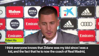 'I'm not a Galactico yet,' says Hazard as he signs for Real Madrid