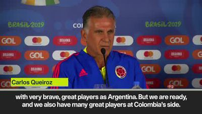 'Tomorrow, the show begins' Queiroz on Copa America opener against Argentina