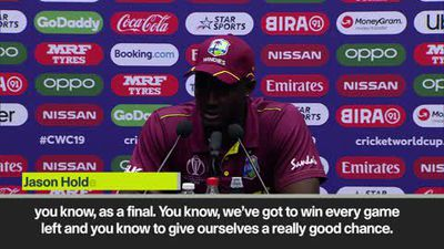 West Indies captain Holder admits qualification will be tough