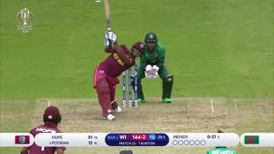Bangladesh produce masterful batting display to beat West Indies by 7 wickets