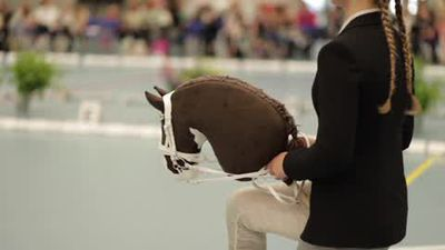 Hobby Horse Championships - equestrian craze a huge hit in Finland