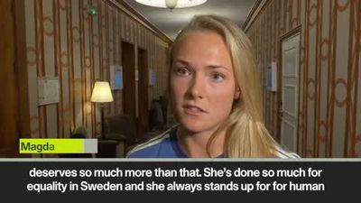 'Horrible news' Nilla Fischer statue vandalised during Sweden's World Cup campaign