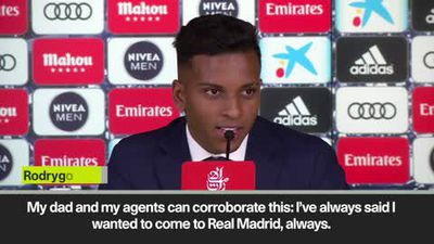 'The deal was closed in 20 minutes' reveals Rodrygo Goes on Real Madrid move