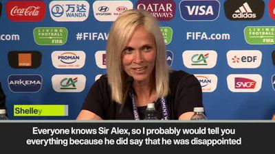 Shelley Kerr reveals the support Sir Alex Ferguson has been giving the team