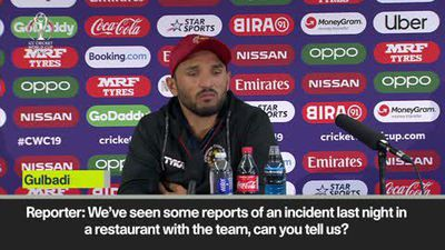 Afghanistan captain threatens to walk out of press conference