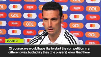 'We have the chance to get revenge tomorrow' Scaloni