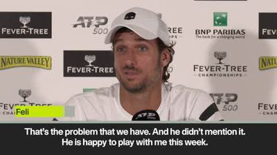 'Murray happy to play with me' Lopez ready to partner Andy Murray at Queen's despite match-fixing...