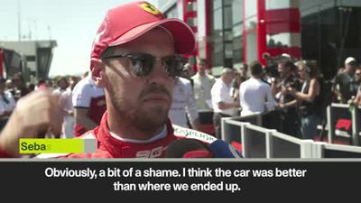 Vettel 'not happy but confident' after slumping to P7 on the grid ahead of French GP