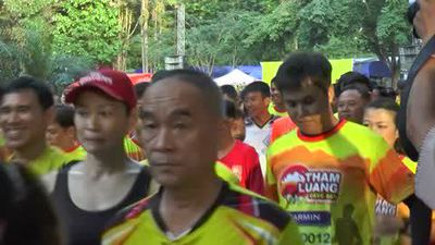 Thai football team rescued from cave mark anniversary with marathon