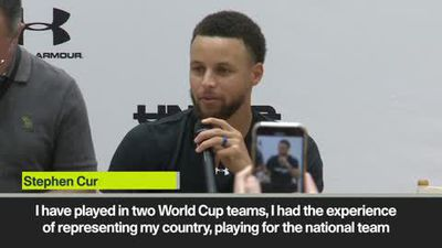 Stephen Curry on Olympics and Tokyo ambition