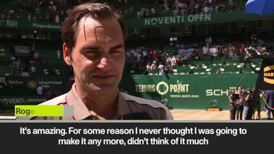 Federer - Never thought I would win Halle ten times