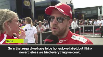 'We failed,' says Vettel after finishing fifth at French Grand Prix