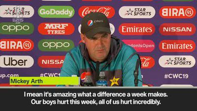 'We didn't sleep and now we're alive and kicking' - Pakistan head coach Arthur