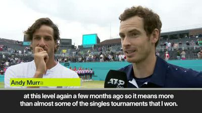 Murray - Doubles win means more than some singles titles