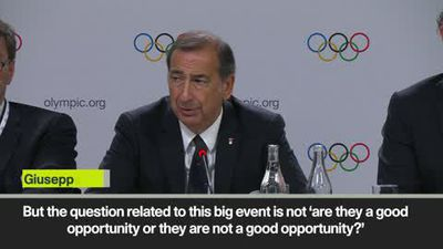 '2026 Winter Olympics is an 'opportunity for our country' Giuseppe Sala