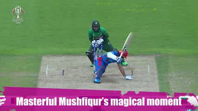ICYMI - Mushfiqur Rahim's magical moment as he stumps out Shahidi