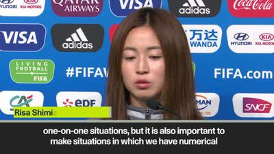 'Lieke Martens is an excellent player' - Japan defender Shimizu