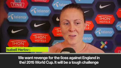 'We want revenge against England' - Norway's Herlovsen