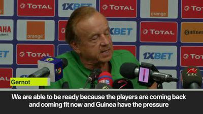 'Match against Guinea most difficult in the group' Nigeria coach Gernot Rohr