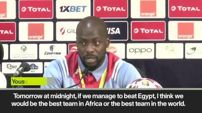 Egypt and DR Congo speak ahead of AFCON Group A encounter