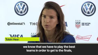 USA 'excited for the challenge' of Women's World Cup quarter-final against France