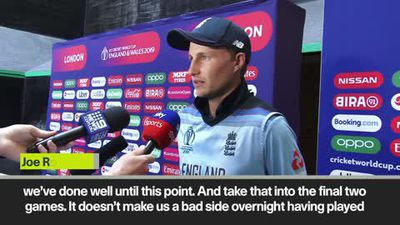 Root insists 'It's not all doom and gloom' as England WC hopes hang in balance
