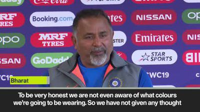 'We bleed blue' - India coach Arun on controversy over orange shirts