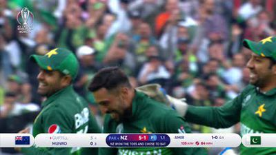 Pakistan keep World Cup hopes alive after beating New Zealand by 6 wickets