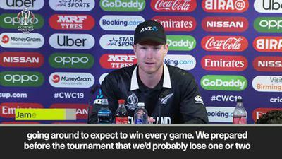 New Zealand say it was 'naive' to expect unbeaten tournament after defeat to Pakistan