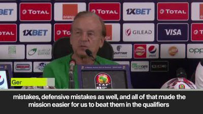 'They made mistakes' Nigeria coach on Algeria ahead of AFCON semis