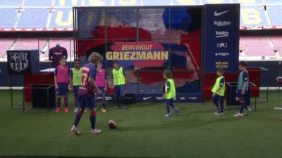 Antoine Griezmann looking to win trophies with Barcelona