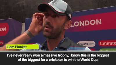 'I'd have give my right leg for it' says Plunkett after England's historic World Cup win