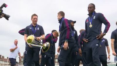 """So happy we got across the line"" - Bairstow on World Cup victory"
