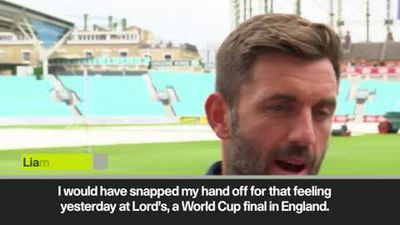 "Plunkett - ""I would have snapped my hand off for that feeling yesterday at Lord's"""