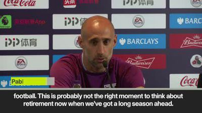 Zabaleta announces he will leave West Ham at end of next season