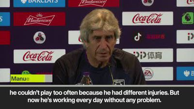 Pellegrini on hopes for injury-free Wilshere next season