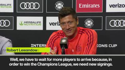 'We need new signings to win the Champions League', says Bayern's Lewandowski