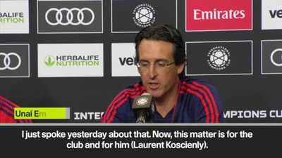 'Koscielny situation needs resolving' says Emery