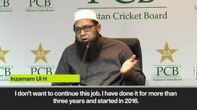 Inzamam-ul-Haq resigns as chief selector of Pakistan cricket team