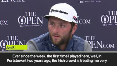 'Portrush is like playing at home' says Jon Rahm